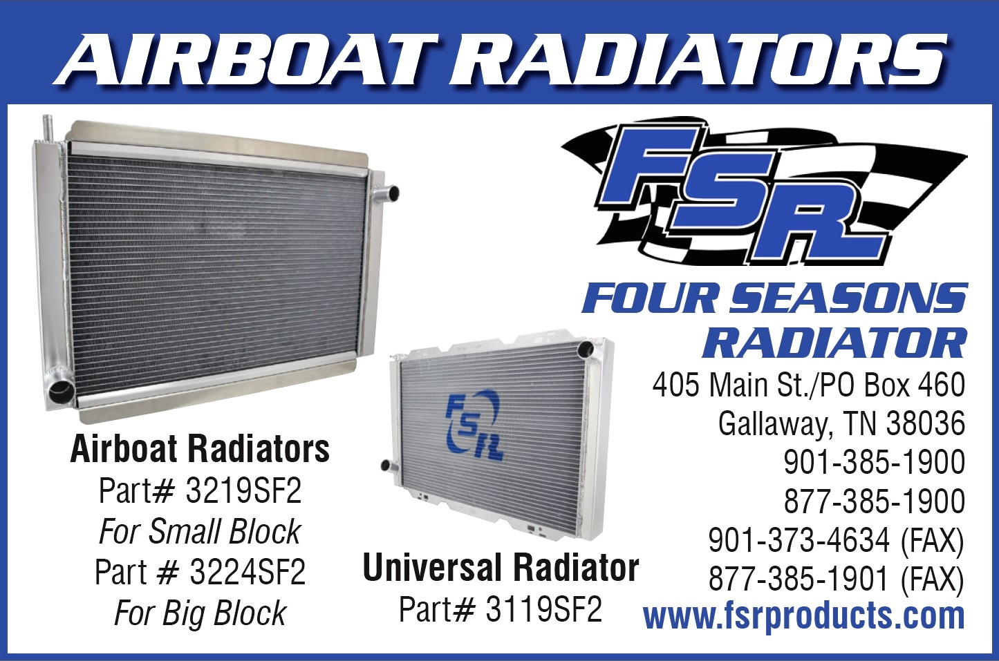 Four Seasons Radiator